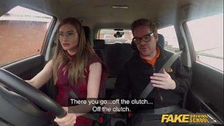 Escuela de conducción falsa – sexo ucraniana chica